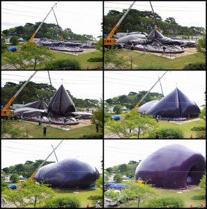 Az Ark Nova felállítása egy új helyszínen gyors és egyszerű